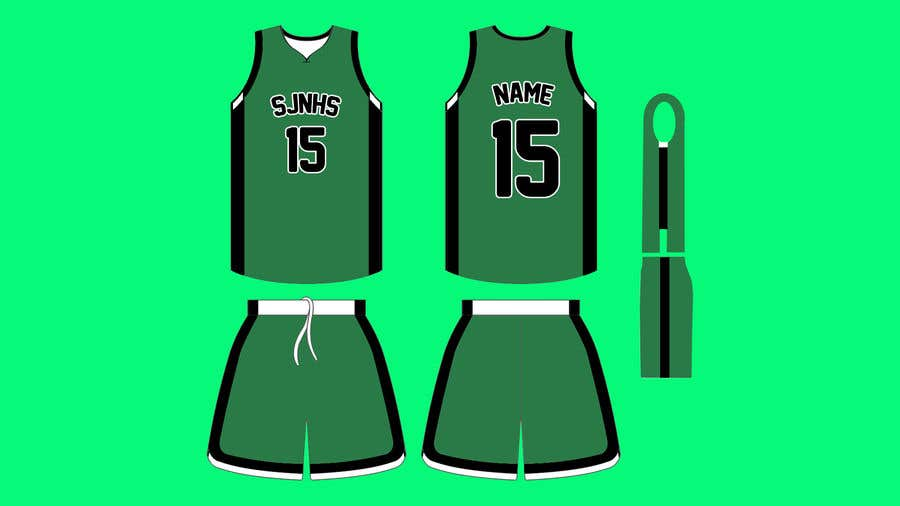 5835d35790d Entry  4 by ariariska for DESIGN FOR OUR BASKETBALL UNIFORM