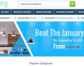 #41 for Email Banner needed for Lighting Retailer by youshohag799