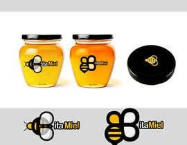 #127 para Design a logo for a Honey brand- Diseñar un logo para una marca de miel de pataemingo