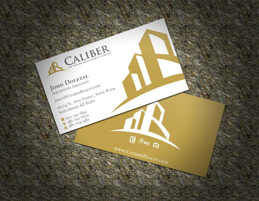 #75 for Business Card Design for Caliber - The Wealth Development Company by XLNCInc