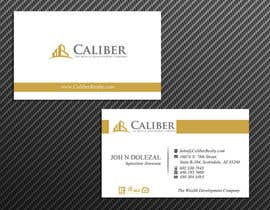 #33 para Business Card Design for Caliber - The Wealth Development Company por McFOX