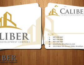 #31 para Business Card Design for Caliber - The Wealth Development Company por syarah