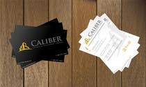 Graphic Design Kilpailutyö #66 kilpailuun Business Card Design for Caliber - The Wealth Development Company