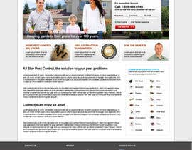 #16 para Website Design for All Star Pest Control por fanykoh