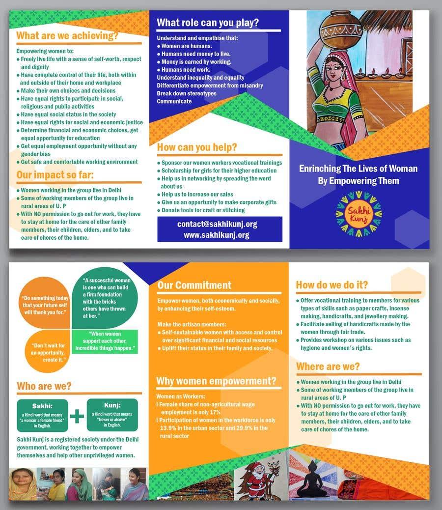 ngo brochure templates - entry 10 by vw1109043vw for urgent flyer brochure design