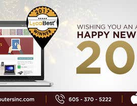 #71 for Design 2018 New Year Facebook Cover Page by madartboard