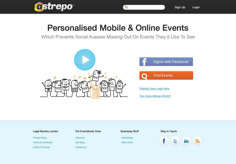 Proposition n°9 du concours Website Design for Astrepo