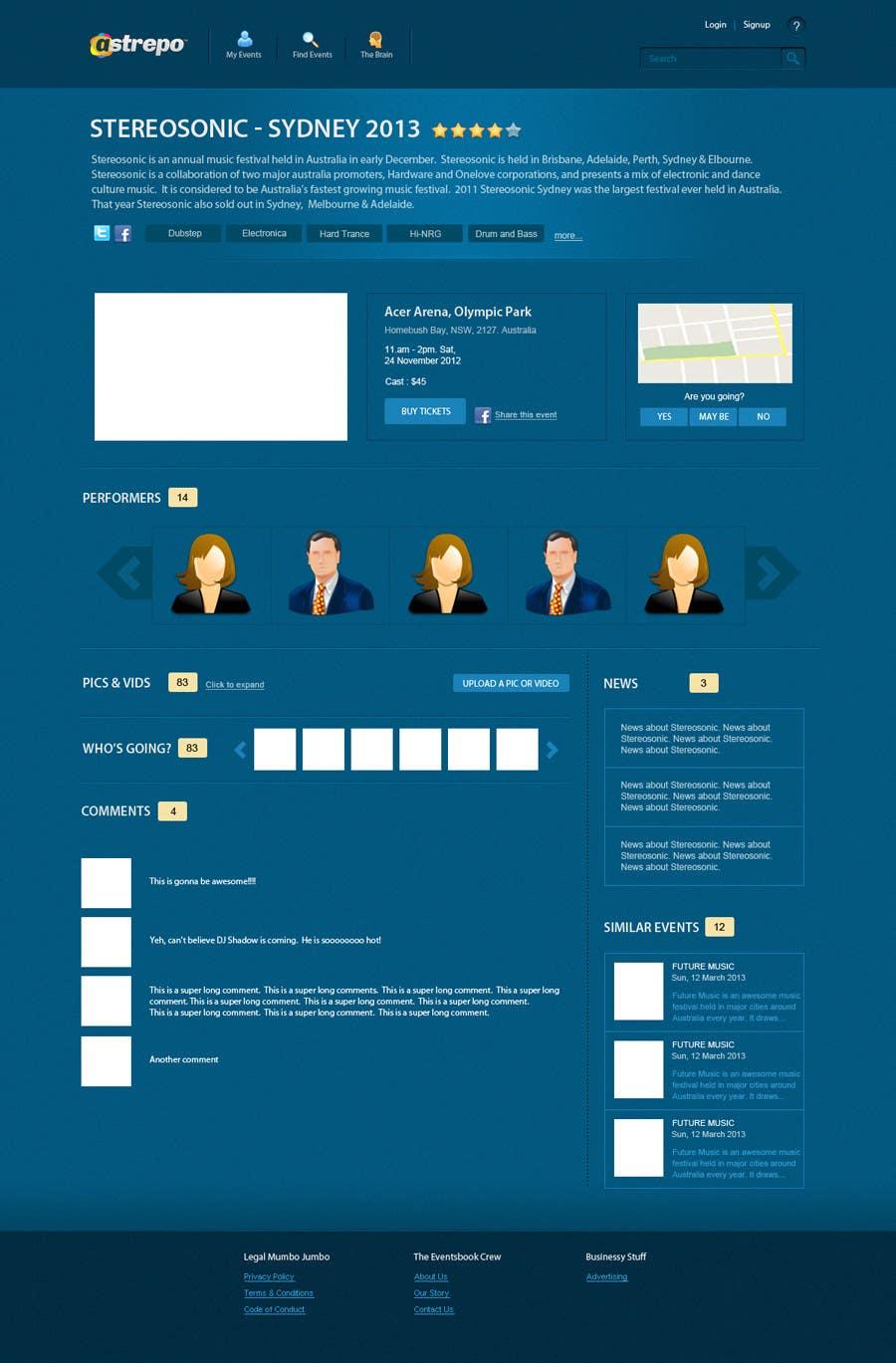Konkurrenceindlæg #                                        17                                      for                                         Website Design for Astrepo