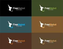 trying2w tarafından Logo Design for Free Market Safari için no 756