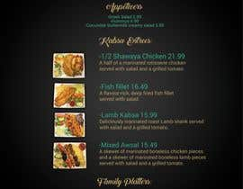 #14 for Menu for Kabsa House by masudhridoy