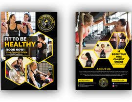 #35 for Double Sided Flyer For Personal Training Business and Studio by siambd014