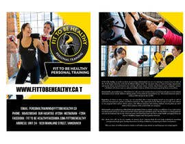 #5 for Double Sided Flyer For Personal Training Business and Studio by maidang34