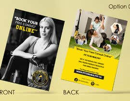 #6 for Double Sided Flyer For Personal Training Business and Studio by vinuprr