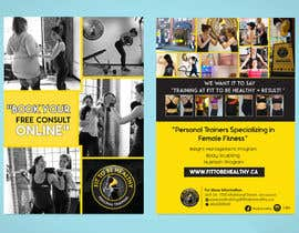 #50 for Double Sided Flyer For Personal Training Business and Studio by vinuprr