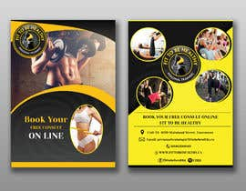#11 for Double Sided Flyer For Personal Training Business and Studio af khaledalmanse