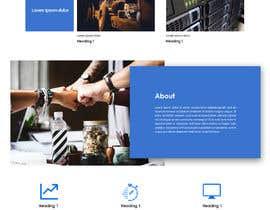 nº 6 pour Design a Website Mockup par stylishwork