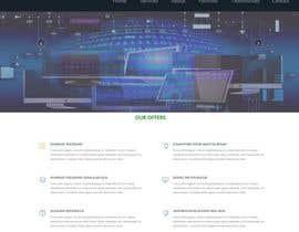 nº 9 pour Design a Website Mockup par dofemila