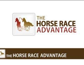 #276 สำหรับ Logo Design for The Horse Race Advantage โดย mOrer