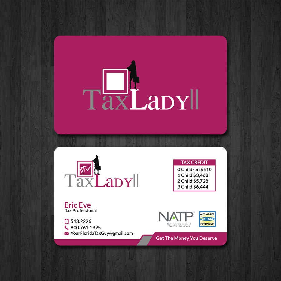 Entry #37 by papri802030 for Design some Tax Company Business Cards ...