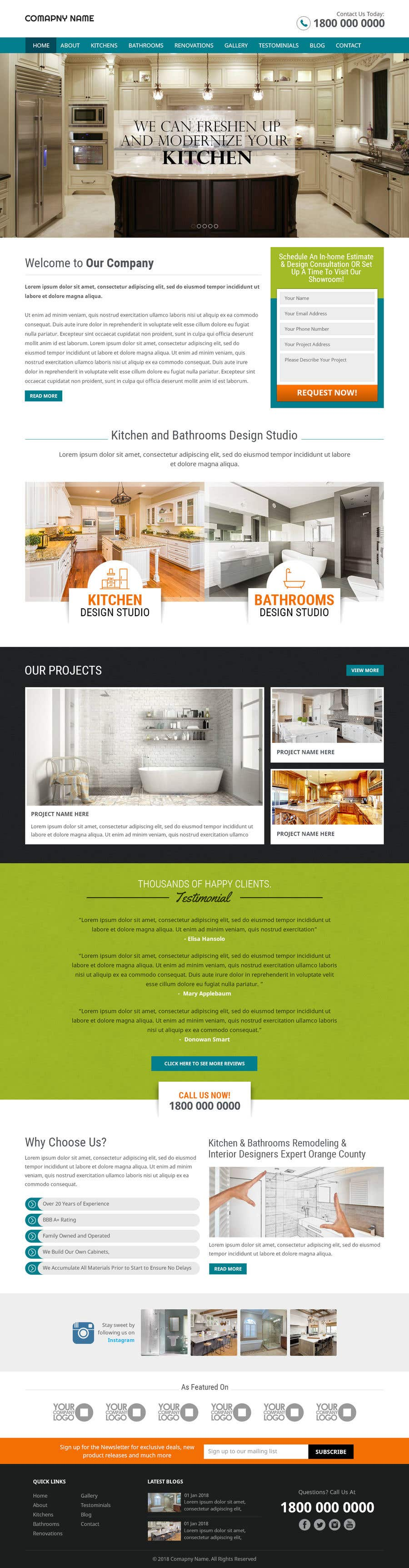 Entry #11 by pixelwebplanet for Design 3 mockup website pages for me ...
