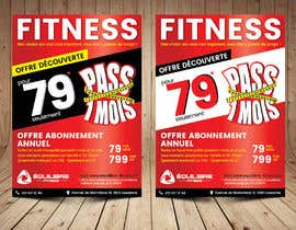 nº 29 pour Design a Gym direct mail Flyer par ThroneStark