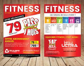 #46 for Design a Gym direct mail Flyer by ThroneStark