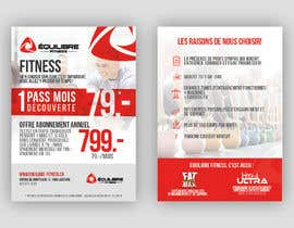 #33 for Design a Gym direct mail Flyer by cbastian19