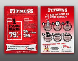 #84 for Design a Gym direct mail Flyer by ericzgalang