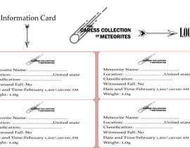Číslo 13 pro uživatele Design a Logo / Simple Information Card od uživatele Nawab266