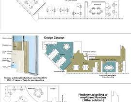 #45 for Architecture Design for Freelancer.com Office af OmarAbdalmajid