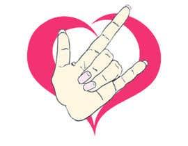 #40 for Heart & ILU Hand by alifffrasel