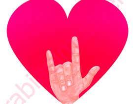 #36 for Heart & ILU Hand by rabiaelmouden