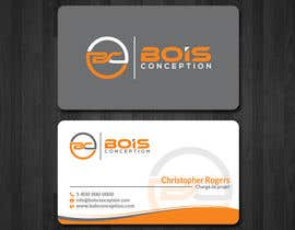 #4 for Design some Business Cards for BOIS CONCEPTION by papri802030