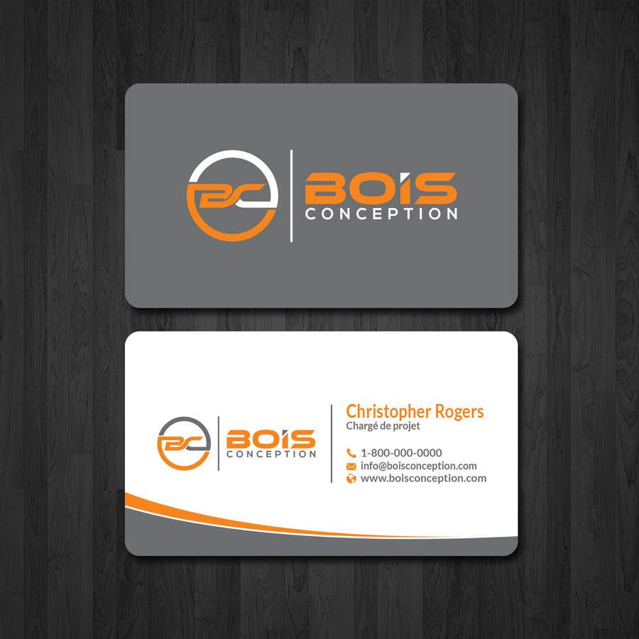 Entry 11 By Papri802030 For Design Some Business Cards For Bois