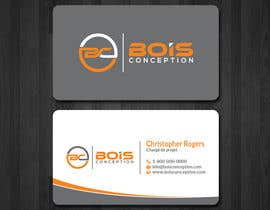 #11 for Design some Business Cards for BOIS CONCEPTION by papri802030