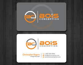 #27 for Design some Business Cards for BOIS CONCEPTION by papri802030