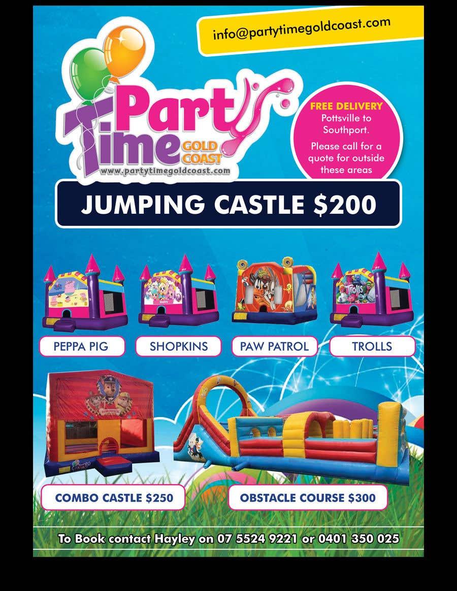 Inscrição nº 4 do Concurso para Jumping Castle
