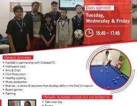 Nro 30 kilpailuun Design 2 double sided flyers to advertise a youth centre. käyttäjältä e5ddesigns