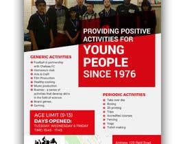 Nro 26 kilpailuun Design 2 double sided flyers to advertise a youth centre. käyttäjältä siambd014