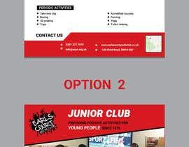 Nro 14 kilpailuun Design 2 double sided flyers to advertise a youth centre. käyttäjältä Forhad95s