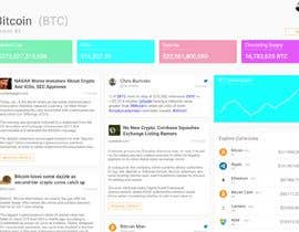 #1 for Design a Cryptocurrency News Reader Web App by WilDesignZA