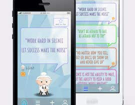 #10 for Design an App Mockup for new Quotes App af Pac1f1cus
