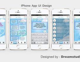 #19 for Design an App Mockup for new Quotes App af dreamstudios0