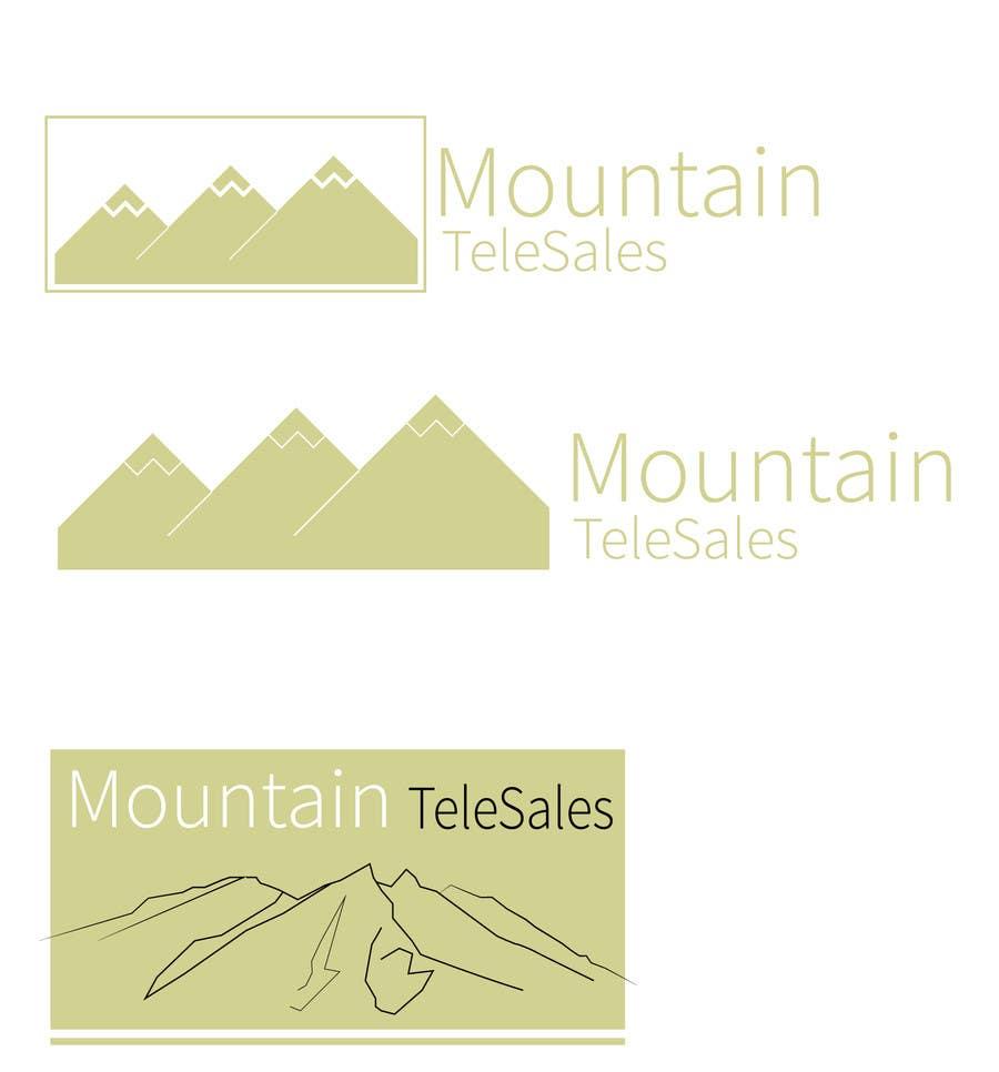 Penyertaan Peraduan #                                        1                                      untuk                                         Mountain TeleSales Logo