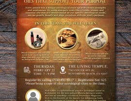 #13 for Astrology and Crystals Lecture Flyer af apwbd49