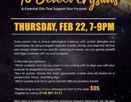#12 for Astrology and Crystals Lecture Flyer af maidang34