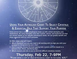 #22 for Astrology and Crystals Lecture Flyer af davayala93
