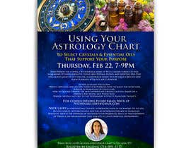 #19 for Astrology and Crystals Lecture Flyer af KrishankantB33