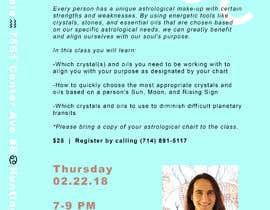 #16 for Astrology and Crystals Lecture Flyer af daniellerosen