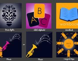 #13 para Design some App Icons for Kidz App por Ruxi91